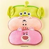 韓國大創限定迪士尼 皮克斯 玩具總動員 三眼怪熊抱哥火腿豬 眼罩 造型眼罩 睡眠眼罩 COCOS KO201