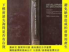 二手書博民逛書店DEVELOPMENTS罕見IN MECHANICS力學的發展