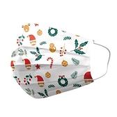 善存 優美特 成人醫療口罩 聖誕派對(白) 25入/盒【躍獅】