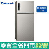 (1級能效)Panasonic國際579L雙門變頻冰箱NR-B589TV-S(銀河灰)含配送到府+標準安裝【愛買】