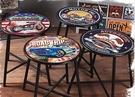 [協貿國際]復古做舊椅子酒吧咖啡廳餐廳鐵...