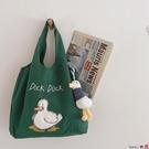 熱賣帆布包 日系迷你上班手提袋小包包裝書的學生布袋子可愛單肩帆布包女夏季 coco
