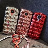 紅色愛心美圖M8手機殼T8S全