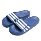 ADIDAS 拖鞋 DURAMO SLIDE 藍白 基本款 一體成型 防水 情侶款 (布魯克林) G14309
