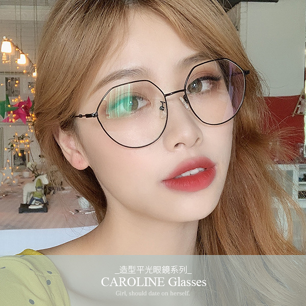 《Caroline》★年度最新款平光鏡甜美.自然.氣質時尚平光眼鏡 71455