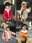 辰辰媽童裝冬裝1-3歲女寶寶羽絨服白鴨絨新款女童圓領羽絨服外套