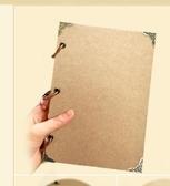 牛皮紙手繪菜單本子制作手寫點菜譜本紙設計活頁價目表酒水單