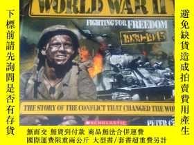 二手書博民逛書店WORLD罕見WAR II FIGHTING FOR FREED