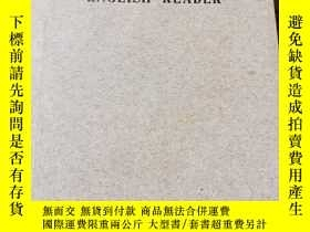 二手書博民逛書店民國《三民主義英文讀本》(Three罕見Principles English Reader),附藏書票Y183