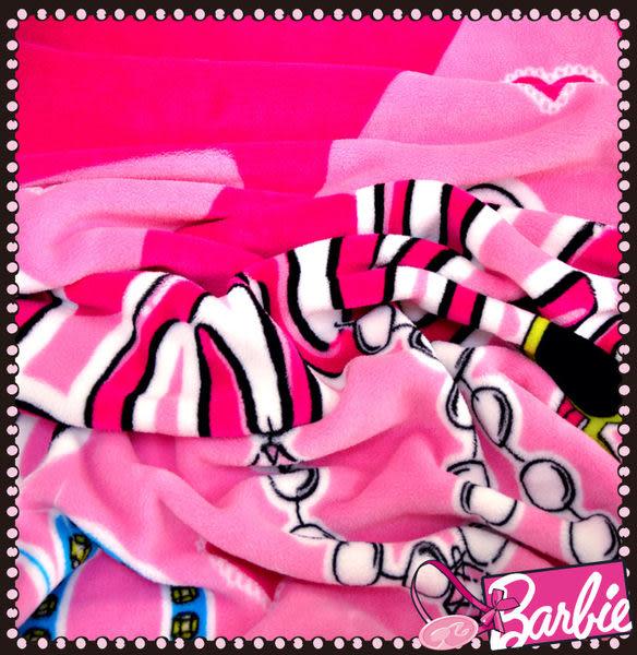 【Barbie】動心時尚-牧羊絨舒柔毯《HEART BEAT系列《4色》》