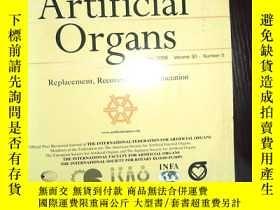 二手書博民逛書店外文書罕見ARTIFICIAL ORGANS 2006 5.30