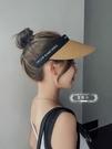 空頂帽防紫外線遮陽草帽馬尾帽韓版百搭防曬帽子女 黛尼時尚精品