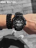 特種兵戰術手錶男多功能運動成人戶外潮流智能防水機械學生電子錶 青山市集
