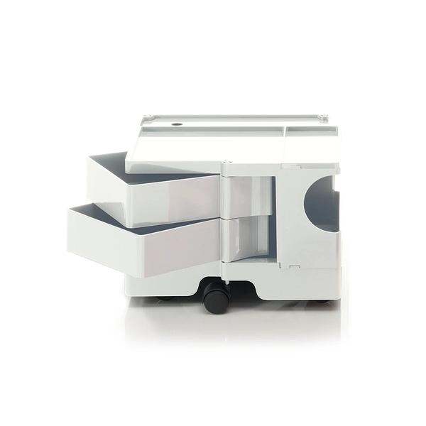 B-Line Boby Storage Trolly System Mod.XS H31.5cm 巴比 多層式系統 收納推車 - 低尺寸 (雙抽屜收納) 白色款