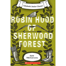 【麥克書店】ROBIN HOOD OF SHERWOOD FOREST(羅賓漢)/書+CD