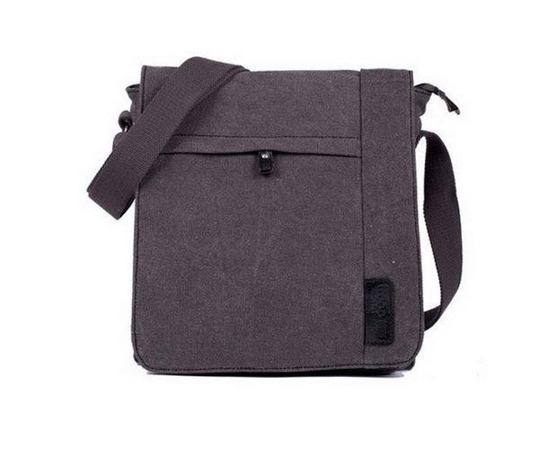 TROOP 英國 帆布包 經典品格CLASSIC斜背包帆布包-2色/TRP0219