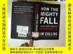 二手書博民逛書店HOW罕見THE MIGHTY FALL 如何強大的下降 32開