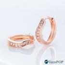 耳環 ATeenPOP 白K耳環 美麗際遇 易扣耳環 兩款任選