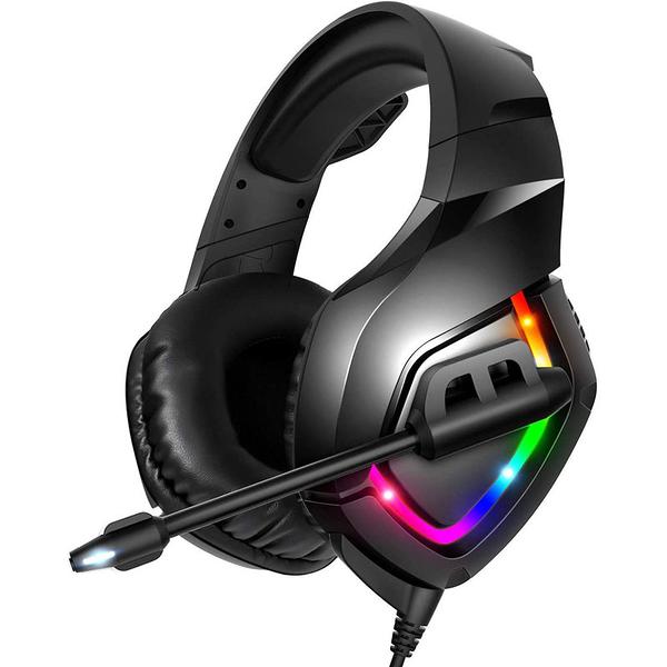 [8美國直購] 遊戲耳機 RUNMUS Gaming Headset PS4 Headset with 7.1 Surround Sound, Xbox