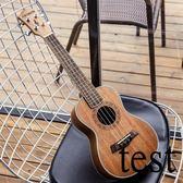 烏克麗麗手工桃花心尤克里里23寸26寸成人初學者學生烏克麗麗小吉他XW
