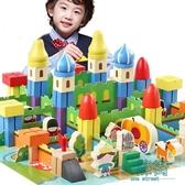 兒童玩具3-6周歲7男孩1一2歲益智木制女孩木頭早教拼裝積木