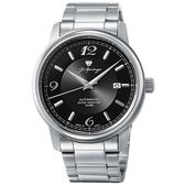 【J.SPRINGS】J Classic Mechanical自動上鍊機械錶款 (銀/黑 JSNPEA002)