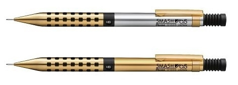 Pentel Smash Q1005L 金銀 金色 0.5mm 自動鉛筆 2019 LIMITED 數量限定