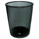 群策 CD57-12 圓形黑網垃圾筒/垃圾桶 Ø23xH30cm