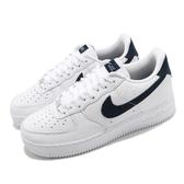 Nike 休閒鞋 Air Force 1 07 Craft 白 黑 男鞋 AF1 質感皮革鞋面 【ACS】 CT2317-100