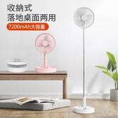 【世明國際】創意 伸縮 折疊 P9 風扇 家用 台式 桌面 落地 静音 USB充電 小風扇 電風扇 臺式