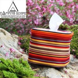 丹大戶外【Camping Scape】韓國Bread Tissue Paper捲筒衛生紙防水收納套/小抽取式面紙盒