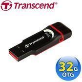 [富廉網] 創見 Transcend 32GB JetFlash340 USB2.0 OTG隨身碟