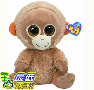 [103美國直購] Ty 毛絨玩具 Ty Beanie Boo Buddy Tangerine Orangutan $518