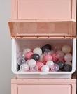 特大號收納箱前開式塑料兒童玩具