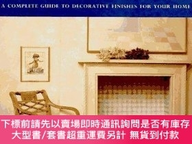 二手書博民逛書店Applied罕見Artistry: A Complete Guide to Decorative Finishe