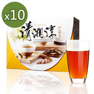 青玉牛蒡茶 清湘淳牛蒡茶包(6g*50包入/1盒)x10盒