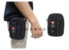 ~雪黛屋~SPYWALK 腰包5吋手機適用外插筆二層主袋外掛式腰包工具包隨身物品腰包防水尼龍布SD2547