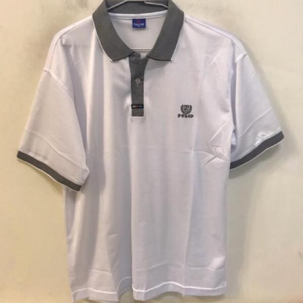 韓版修身休閒POLO衫短袖T恤(XL號/222-4343)