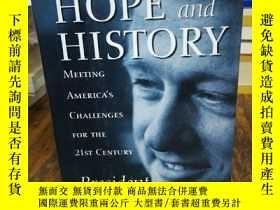 二手書博民逛書店Between罕見Hope and History: Meeti