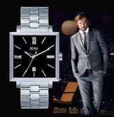 【僾瑪精品】Hugo Boss 時尚方形黑面男用個性腕錶-37mm/H1512020