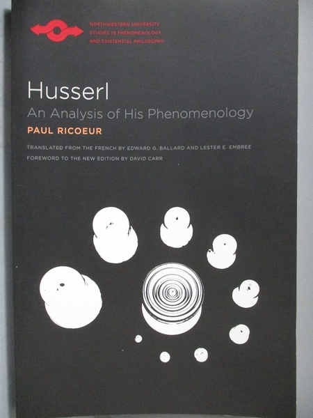 【書寶二手書T6/哲學_ZBL】Husserl-An Analysis of His Phenomenology_Ric