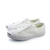 CONVERSE Jack Purcell Jack 休閒鞋 帆布鞋 低筒 白色 男女鞋 UNISEX 151485C no279