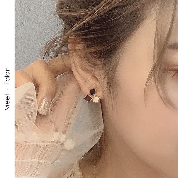 塔蘭時尚網紅耳環女高級感精緻小耳釘韓國氣質百搭簡約小 耳飾品
