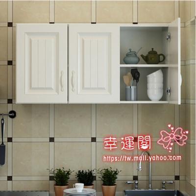 廚房吊櫃 廚房吊櫃牆壁櫃陽台儲物櫃臥室浴室牆上置物櫃壁掛頂櫃歐式門T