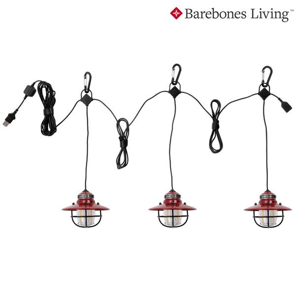 Barebones 串連垂吊營燈Edison String Lights LIV-265.267.269 / 城市綠洲(燈具、USB充電、照明設備)