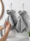 兒童手帕 廚房掛式擦手巾衛生間小加厚卡通手帕可愛吸水兒童搽手巾毛巾【快速出貨八折鉅惠】