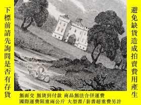 二手書博民逛書店1818年罕見Village Dialogues 含14副精美銅板插圖 全皮裝幀 2 OF 2 不錯Y2498