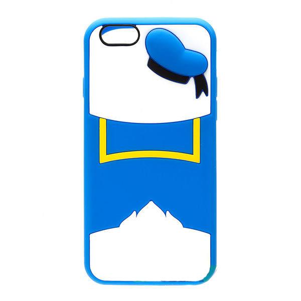 【漢博商城】iPhone 6/6S 4.7吋 Disney iJacket 迪士尼 立體矽膠軟殼 第二彈 唐老鴨