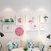 壁畫 少女心寢室照片墻歐式相框墻創意臥室裝飾房間布置相框  莫妮卡小屋 IGO