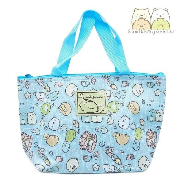 日本限定 SAN-X 角落生物 海洋版 保冷袋 / 手提袋 / 手提袋 / 餐袋 / 便當袋